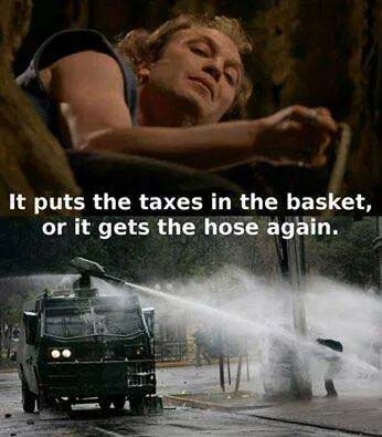 Taxes in the basket